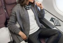 TRAVEL IN STYLE /// / Ideas and inspiration on what to wear when you are traveling