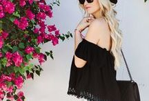 SUMMER STYLE /// / Outfit ideas and inspiration on what to wear in the summer