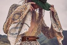 BOHEMIAN /// / A collection of outfit ideas for the modern and feminine bohemian woman