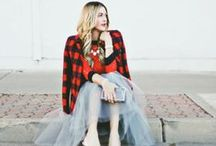 HOLIDAY STYLE /// / A collection of holiday outfit ideas for women