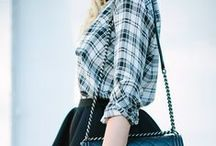 PLAID /// / A collection of outfit ideas and inspiration for plaid