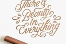 Hand lettering | Tips, ideas and inspiration / Hand lettering tutorials, practice sheets, ideas and inspiration