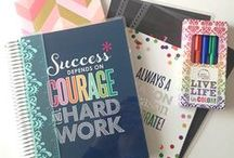 Planners, Filofax and Stationery / A board of inspiration on using a Filofax or a Planner to help you keep organised and lots of love for stationery