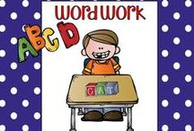 Word Work Fun / Phonics, working with words, and more!