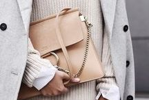 NEUTRAL  /// / A fashion board for the girl who loves to dress in neutral tones.