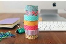 How to craft with Washi Tape / How to use washi tape for crafts