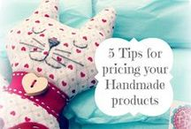 Creative Handmade Business Tips / Have a creative business, work for yourself, work at home parent? A board of great tips and tricks for running your own creative business to sell handmade products