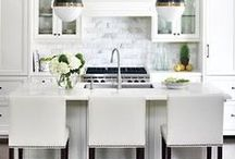 KITCHEN /// / A collection of images and inspiration for a beautiful, on-trend kitchen for your next home.