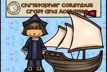 Christopher Columbus / Crafts, suggested literature, and activities.