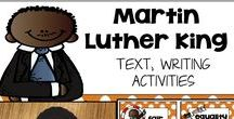 Martin Luther King Jr. / crafts activities literature