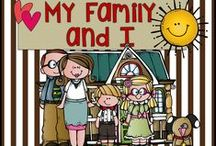 Family / A mini lesson on families for the classroom.  Includes videos, book suggestions, songs.