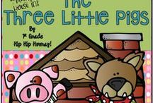 The Three Pigs / Have fun with the tale and the TRUE FACTS!
