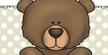 Favorite Bear Stories / Enjoy the stories with bears as the favorite characters. Crafts, Activities, Snacks