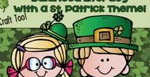 St. Patrick's Day / Crafts writing word work informational text reader's theater