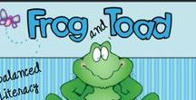 Arnold Lobel...Frog and Toad / Comprehension Writing Word Work Crafts Science