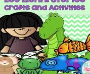 Leo Lionni / author study book study character study crafts activities games
