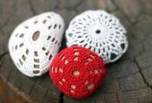 Crochet & Knit: miscellaneous / Other crochet, knit, lace work, tatting ~ Mold & color-scheme ~ (miscellaneous) / by Chiêu