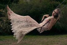 Crochet Knit இ Yarn ~ Great expectations! / இ Crochet~Knit~Lacework of fashion designs ~ on catwalk / by Chiêu