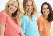 We LOVE Tees! / We love colorful T-shirts / by Woman Within