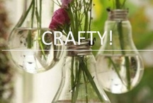 Crafty / Some super-crafty ideas for when we're feeling in the mood for DIY and upcycling.
