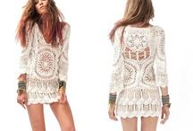 Crochet: Skirt & Dress / by Chiêu