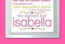 Isabella / by K@ti@ V@leri@
