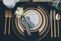 Table settings / by TuisHome_mag