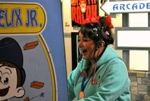 """Dulce diversión #WreckItRalph / Celebrando la llegada de Wreck-It Ralph en su edición  4-Disc Blu-ray Combo Pack, 2-Disc Blu-ray Combo Pack, DVD, SD Digital y On-Demand. Hemos preparando un gran recibimiento: """"Dulce diversión con Wreck-It Ralph """"."""