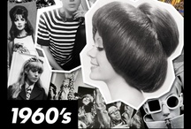 1960s / The Sixties was the decade where it all began for TONI&GUY with the opening of the first salon in Clapham, London in 1963. This year, TONI&GUY celebrates it's 50th birthday. Here we celebrate the '60s by bringing you some nostalgia from the era.