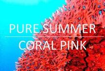 Pure Summer Coral Pink / Our favourite shade from our Summer collection!