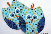 Pot holder / Topflappen / I love to make pot holders, they are wonderful gifts, everyone needs them!!!