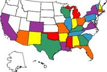 Genealogy State Research / Pins will be for researching genealogy in a state.