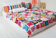 Handmade with love / Quirky quilts, knits and stitch craft for decorating with a personal touch / by TuisHome_mag