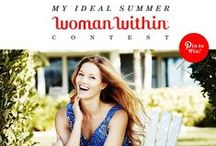 Woman Within's Ideal Summer / Summer fashion must haves, Places you would love to visit, Summer recipes, Decor.  Make your summer perfect! / by Woman Within