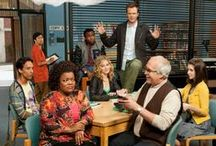 The Study Group (Community) / My brother recently got me obsessed with the NBC cult hit, Community. Loving the diverse, crazy, ragtag study group of Greendale Community College.  GO GREENDALE HUMAN BEINGS!!