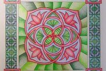 Atelier De Witte Waterlelie / Mandala's en andere creaties uit het atelier van De Witte Waterlelie