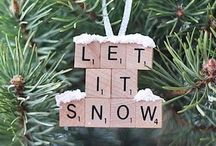 Mistletoe / Christmas and Happy Holidays