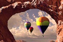 hot air ballon <3 / by Tanya Lamb