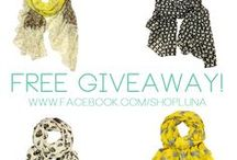 Free Giveaways on Facebook / like and share these posts to be entered to win