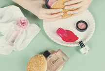 Beauty necessities. / Things in my medicine cabinet, cosmetic bag, and beauty inspiration. / by Crystal L. Boyd