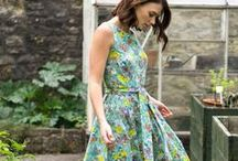 BIBICO FOR COLOUR / Beautiful floral print dresses and floral inspiration...
