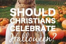 Halloween :: What is a Christian Family to Do / I've been doing LOTS of reading about the halloween debate. These are some of the articles I've been reading that might help you as you prayerfully consider how God is leading your family and what your boundaries will be.