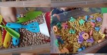 Sensory / Sensory & sensory play ideas, including sensory tables & bins and other activities to engage the senses!