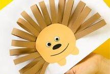 Animal Crafts / Animal crafts for kids
