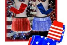 Fourth of July Running Gear / Awesome ways to celebrate our independence by decking out in the red, white, and blue at races and on the road! #4thOfJulyRunningGear #TeamSparkle