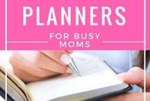 Journals & Planners for Moms / Awesome ideas for planners, journals, and journaling for the heart and soul of a busy mom