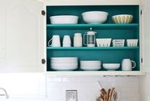 Penelopes at Home / Organization and color-coordination for every room in the Penelope home.