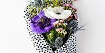 Vackra blommor / Alla blommor är ju vackra, men i denna board blandar vi buketter med kreationer.