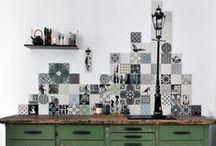 my work - ARTTILES / hand printed ceramic tiles, from the heart of Copenhagen www.arttiles.eu
