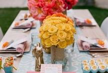 Time to party - food, drink and decor / by Sabrina Lozzano